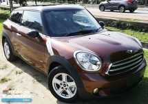 2014 MINI PACEMAN 2014 MINI PACEMAN 1.6A ALL4 JAPAN SPEC UNREG SELLING PRICE ( RM 128,000.00 NEGO ) CAR BODY -COPPER COLOR ( 9017 )
