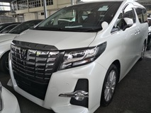 2015 TOYOTA ALPHARD 2.5 SA EDITION/SURROUNDING CAMERAS /POWER BOOT/UNREG/NO GST