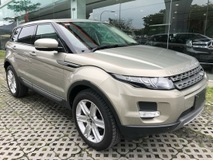2013 LAND ROVER EVOQUE UNREGISTERED RANGE ROVER 2.0 SUV
