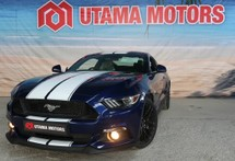 2016 FORD MUSTANG 5.0 GT FITTED EXHAUST SYSTEM
