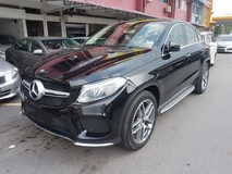 2016 MERCEDES-BENZ GLE 400 COUPE AMG LOCAL CBU (ACTUAL YEAR MAKE) UNDER WARRANTY TILL 2020