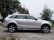 2012 AUDI Q7 3.0TFSI QUATTRO GREEN DIESEL PADDLE SWIFT ELECTRIC LEATHER SEAT 7 SEATER AIRMATIC