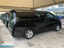 2016 TOYOTA VELLFIRE 2.5 Dual VVT-i 7 SCVT-i 4 Surround Camera Automatic Power Boot 2 Power Door Smart Entry Push Start Intelligent LED Light 9 Air Bag Unreg