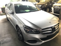 2014 MERCEDES-BENZ E-CLASS E250 AVANTGARDE TWIN TURBO