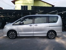 2014 NISSAN SERENA 2.0L HIGHWAY STAR HYBRID FULL LEATHER SUROUND AIR COND 2 TV REVERSE CAMERA