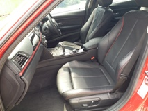 2013 BMW 3 SERIES SPORTS EDITION BUCKET ELECTRIC SEAT FULL SPEC RED PANEL LCI