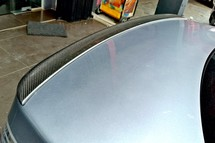 BMW E60 Carbon Fiber Spoiler  Exterior & Body Parts > Car body kits