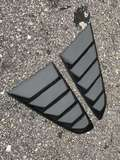 Ford Mustang carbon fiber side window louvers  Exterior & Body Parts > Car body kits