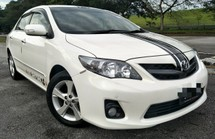 2012 TOYOTA ALTIS 2.0 (A) V SPEC CAR KING CONDITION