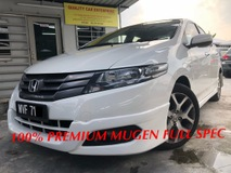 2012 HONDA CITY PREMIUM HIGH MUGEN SPEC AND FULL LOAN EASY APPROVED