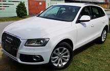 2013 AUDI Q5 2013 AUDI Q5 2.0 TFSI QUATTRO JAPAN SPEC UNREG SELLING PRICE ( RM 159,000.00 NEGO ) CAR BODY WHITE