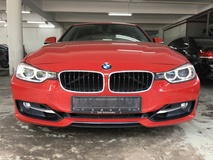 2014 BMW 3 SERIES 320I SPORTS with BMW full service record