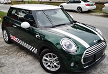 2015 MINI 3 DOOR 2015 MINI COOPER 1.5 TWIN TURBO  FACELIFT JAPAN SPEC UNREG SELLING PRICE ( RM 139000.00 NEGO )