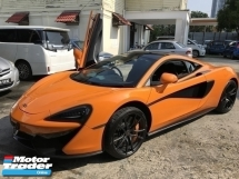 2017 MCLAREN 570 S 3.8 V8 FUNKY ORANGE UNREG TRACK PACK UK