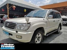 2001 TOYOTA LAND CRUISER  4.2 (A) VX Turbodiesel LIMITED
