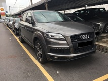2011 AUDI Q7 3.0 TDI S-LINE QUATTRO (ACTUAL YR MADE 2O11)(GST INCLU)(7 SEATERS)(1 OWNER)(DIESEL)(TIPTOP)