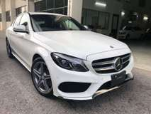2015 MERCEDES-BENZ C-CLASS C200 AMG NEW MODEL JAPAN SPEC UNREG