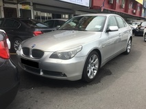 2007 BMW 5 SERIES E60 523i L6 2.5 CKD (ACTUAL YR MADE 2007)(MAGNESIUM ENGINE)(TIP TOP) (KL CHERAS AREA)