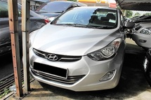 2013 HYUNDAI ELANTRA 1.8 GLS (ACTUAL YR MADE 2013)(FULL SERVICE)(1 OWNER)(LOW MILE)(VERY TIPTOP)(KL CHERAS AREA)