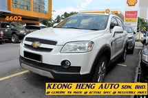 2010 CHEVROLET CAPTIVA LT 2.4 L AWD PETROL (ACTUAL YR MADE 2010)(FULL SERVICE)(REG 2011)(7 SEATER SUV)(1 OWNER)