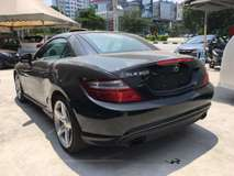 2015 MERCEDES-BENZ SLK SLK200 BLUE EFFICIENCY SPORTS AMG NOHIDDEN AND GST CHARGES(ACTUAL YEAR MAKE)