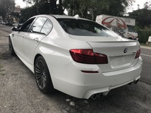 2014 BMW M5 M5 4.4 TWIN TURBO UK CARKING NEW UNREG