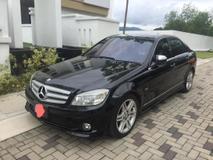 2009 MERCEDES-BENZ C-CLASS C180 KOMPRESSOR AVANTGARDE
