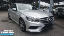 2013 MERCEDES-BENZ E-CLASS E200 AMG UNREG 1 YEAR WARRANTY