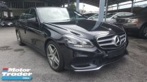 2014 MERCEDES-BENZ E-CLASS E200 AMG UNREG 1 YEAR WARRANTY