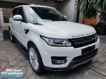 2014 LAND ROVER RANGE ROVER SPORT 3.0  PETROL SUPER CHARGE