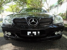 2005 MERCEDES-BENZ SLK 200 K4 1.8 Barbus (A) *Limited Units, High Spec, Sport Rims, Leather*