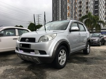 2009 TOYOTA RUSH 1.5 G (A) CCRIS AKPK CAN LOAN ** BLACKLIST SAA CAN LOAN ** CTOS PTPTN CAN LOAN** FULL LOAN AVAILABLE **