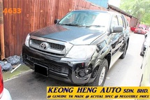 2011 TOYOTA HILUX DOUBLE CAB 2.5 AUTO GREED DIESEL (ACTUAL YR MADE 2011)