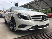 2014 MERCEDES-BENZ A-CLASS A180 EDITION STYLE JAPAN SPEC UNREGISTERED
