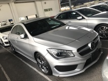 2015 MERCEDES-BENZ CLA CLA180 AMG SPORT KEYLESS PUSHSTART FULL SPEC 2015 JAPAN UNREG NO GST NO SST
