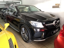 2016 MERCEDES-BENZ GLE GLE 400 AMG Sport Coupe 4MATIC 3.0 Turbocharged 9G-Tronic Original 8000km Full Service Records Under Warranty Mercedes Benz Malaysia until October 2020
