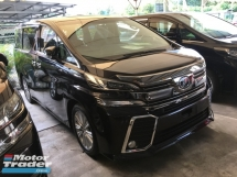 2015 TOYOTA VELLFIRE Unreg Toyota Vellfire ZA 7seather 360View Cam Sunroof Home Theater JBL 7G