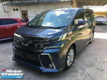 2016 TOYOTA VELLFIRE Unreg Toyota Vellfire ZA 7seather 360View Cam 7G Keyless MPV PowerBoot