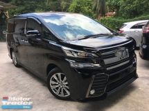 2016 TOYOTA VELLFIRE Unreg Toyota Vellfire 2.5 Golden Eye 7seather 360View Cam 7G Keyless Nice
