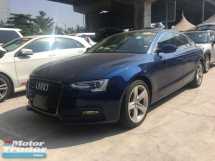 2014 AUDI A5 Unreg Audi A5 2.0 Turbo 210hp MMI Push Start Keyless Japan Spec