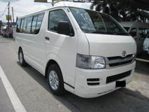 2010 TOYOTA HIACE TOYOTA HIACE WINDOW VAN LOW ROOF