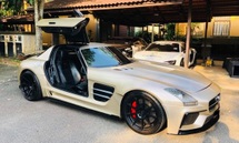2011 MERCEDES-BENZ SLS AMG 6.2L V8 700BHP BLACK SERIES BODYKIT