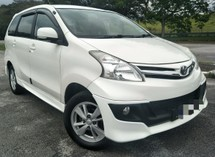 2013 TOYOTA AVANZA 1.5 (A) G SPEC TIP TOP CONDITION