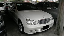 2006 MERCEDES-BENZ C-CLASS C180K 1.8 (ACTUAL YR MADE 2006)(JAPAN SPEC)
