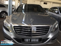 2015 MERCEDES-BENZ S-CLASS S400L 3.5 29k KM Full Service Free Warranty. Fullspec Brown Interior