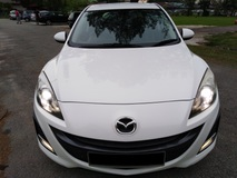 2013 MAZDA 3 CKD 2.0 HB (GLS) 1 LADY OWNER EASY LOAN PROCESS 100% LOAN AVAILABLE LAST UNIT