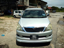 2005 TOYOTA INNOVA 2.0 G FULL Spec(AUTO)2005 Only 1 LADY Owner, 96K Mileage, TIPTOP, ACCIDENT-Free, DIRECT-Owner,with DVD,GPS,REVERSE Cam, 2 Airbeg
