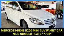 2014 MERCEDES-BENZ B-CLASS CBU BlueEFCY TURBOCHARGE FAMILY MINI SUV