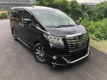 2016 TOYOTA ALPHARD 3.5 Executive Lounge EL Full Spec Unreg Modellista Aero Tourer JBL Sunroof 4 Camera Pre Crash No GST