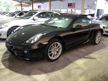 2014 PORSCHE CAYMAN 2.7 PDK Japan Spec 272hp Sport Mode Paddle Shift Steering Bi Xenon Light Automatic Rear Spoiler Zone Climate Control Bluetooth Connectivity 1 Year Warranty Unreg